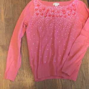 Monsoon pink Sequin sweater